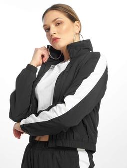 Urban Classics Short Striped Crinkle Track Jacket