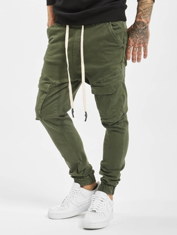 VSCT Clubwear Noah Cargo Cuffed Cool Khaki Antifit Jeans