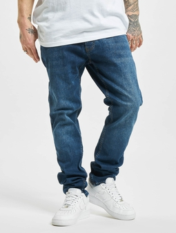 2Y Allentown  Slim Fit Jeans blå