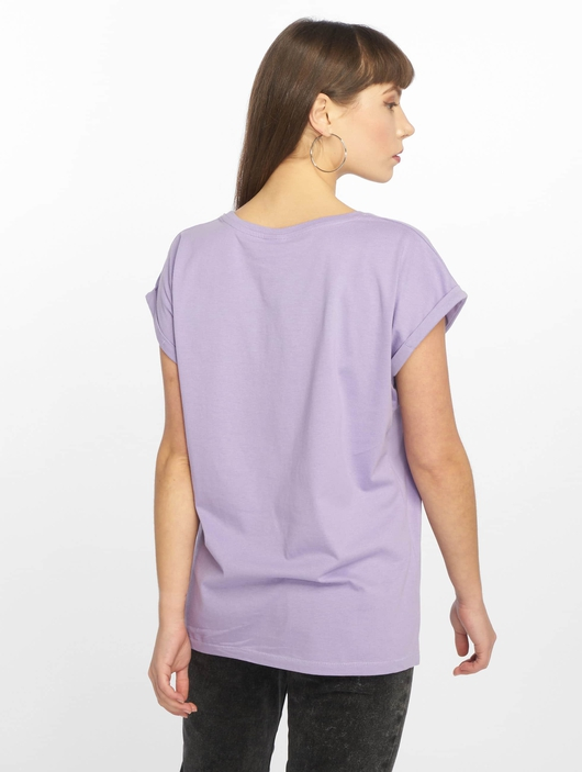 Urban Classics Extended Shoulder T-Shirt Teal image number 1