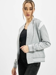 Urban Classics Ladies Organic Inset College  College Jackets