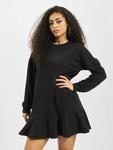 Missguided Frill Hem Sweater Dress Black image number 2