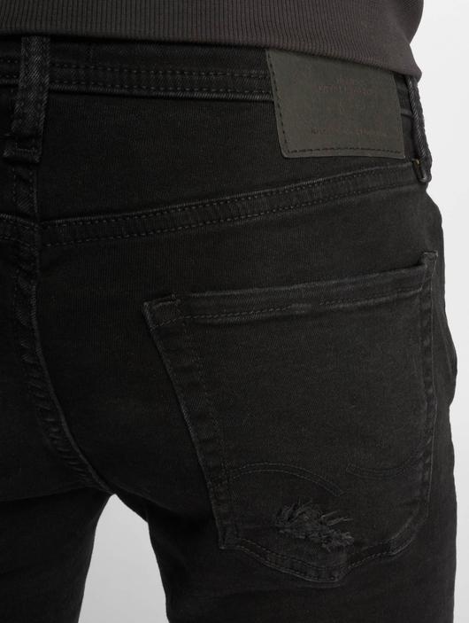 Jack & Jones jjiLiam jjOriginal Skinny Jeans Black Denim image number 4