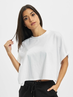 DEF Mani  T-skjorter hvit
