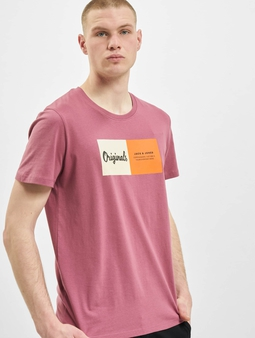 Jack & Jones jorJoshua T-Shirt Hawthorn Rose/Reg