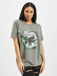 Missguided The Wanderer Eagle Graphic T-Shirt Dark Grey image number 2