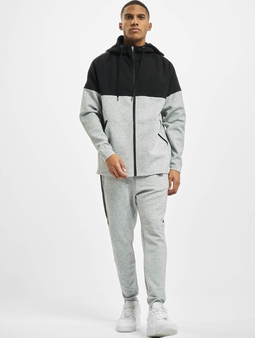 Sik Silk Motion Tape Zip Through Hoody Sweat Suit