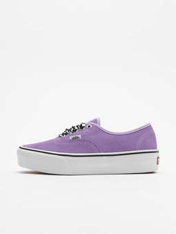 Vans UA Authentic Platform 2.0 Sneakers Checkerboard Lace/Viole