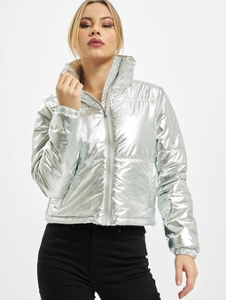 Urban Classics Ladies Metalic Puffer Jacket