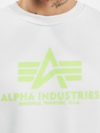 Alpha Industries Basic Neon Print Pullover image number 4
