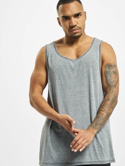 Urban Classics Burnout Jersey Big Tank Top Dark Grey (M