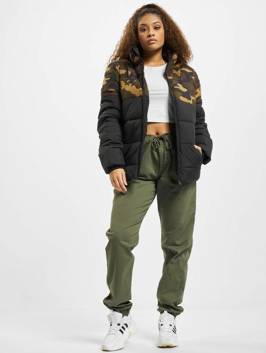 Urban Classics 2 Tone Basic  Puffer Jackets image number 6