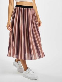 Only onlNew Sway Stripe Skirt Elderberry/Stripe