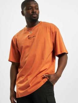 Karl Kani Small Signature T-Shirt Dark Orange
