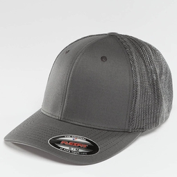Flexfit Mesh Cotton Twill Trucker Cap
