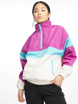 Urban Classics 3-Tone Stand Up Collar Pull Over Jacket