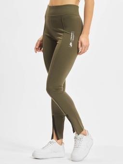 Nike Legasee Zip  Leggings/Treggings khaki