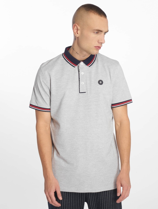 Jack & Jones jcoChallenge Noos Polo Shirt Light Grey Melange image number 2