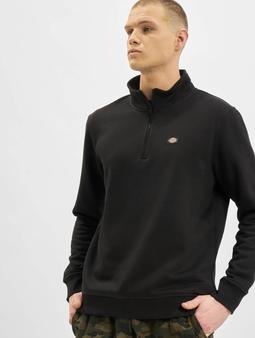Dickies Oakport Quarter Zip Sweatshirt Black