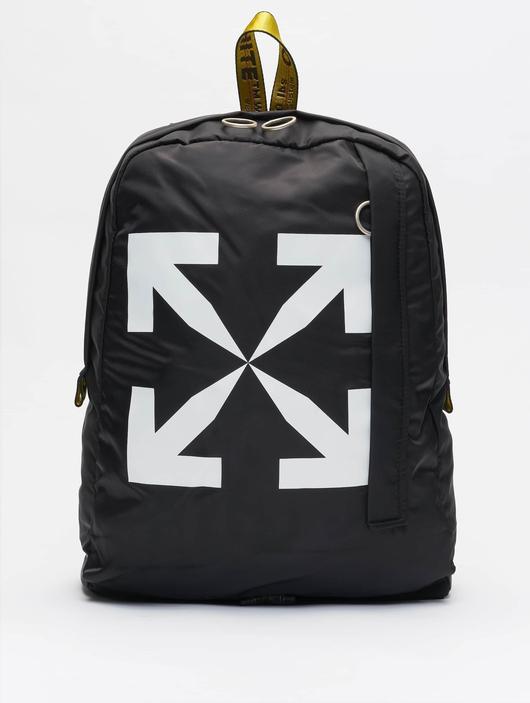 Off White Backpack Black White image number 0