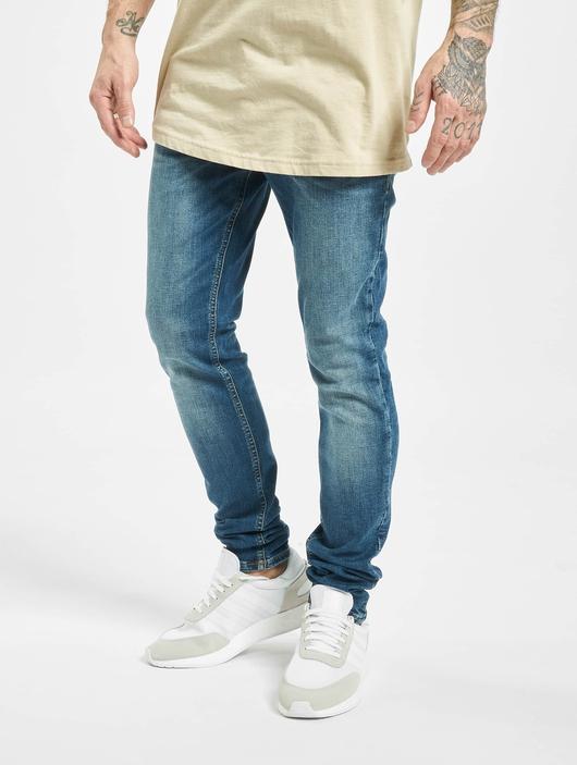Jack & Jones jjiLiam Jjoriginal Agi 005 Skinny Jeans Blue Denim image number 0