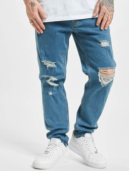 2Y Lakewood  Slim Fit Jeans blå