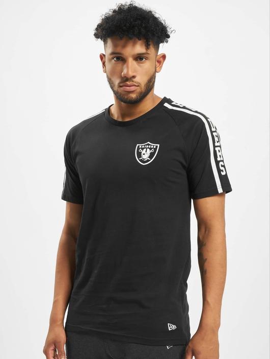 New Era NFL Oakland Raiders Raglan Shoulder Print  T-Shirts image number 2