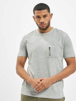 DEF Happy T-skjorter grå