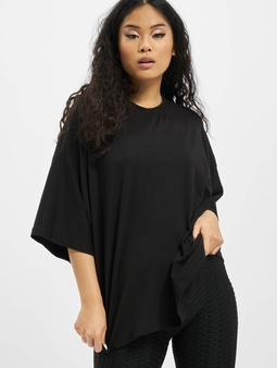 Missguided Petite Drop Shoulder T-skjorter svart