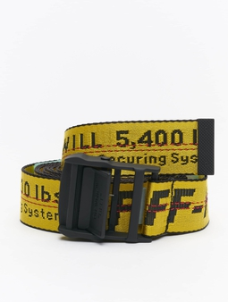 Off-White Classic Industrial Belts gul