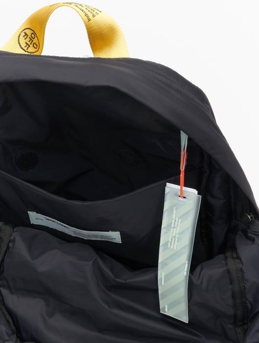 Off White Backpack Black image number 11