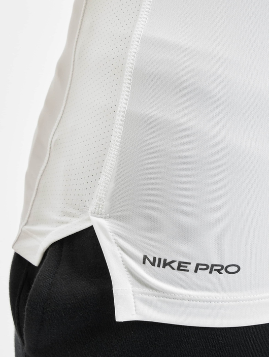 Nike Pro Short Sleeve Tight Compressionsshirt Black/White image number 3
