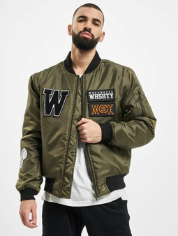 Who Shot Ya? Born Again Bomber Jacket