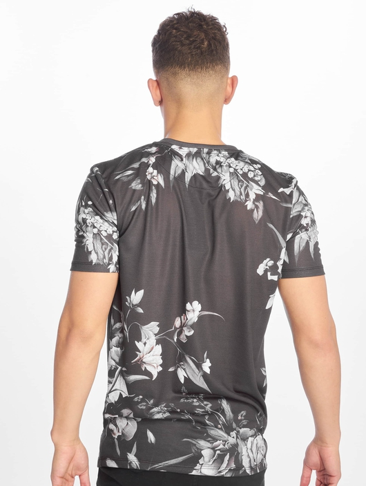 Criminal Damage Sinclar T-Shirt Black White image number 1