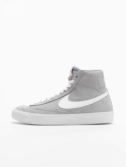Nike Blazer Mid '77 Suede (GS) Sneakers Wolf Grey/White/Black/Total Orange