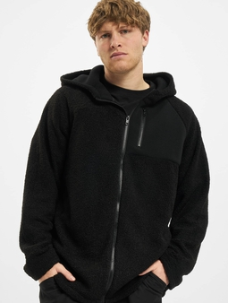 Urban Classics Hooded Sherpa Zip Hoody