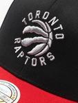 Mitchell & Ness NBA Toronto Raptors 110 2 Tone Snapback Black/Red image number 3