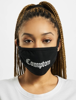 Mister Tee Compton Face Mask Other Heather Grey