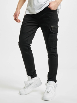 Project X Paris Cargo Pants Black