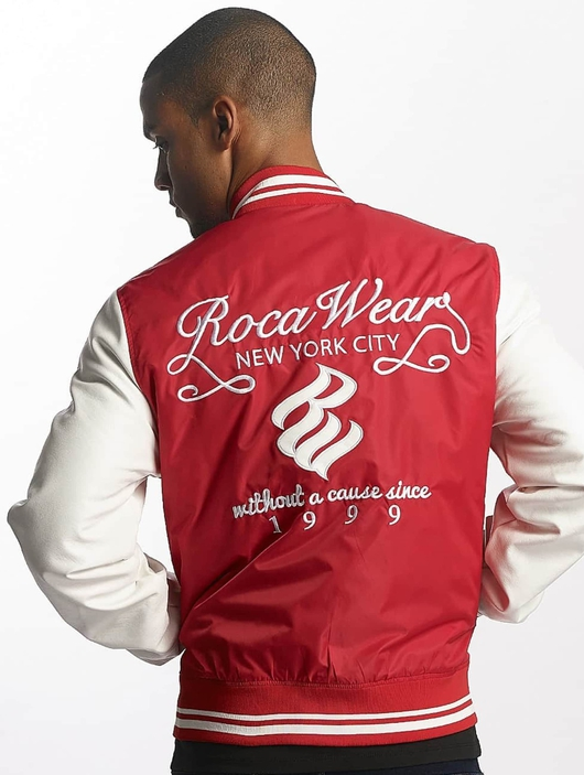Rocawear College Jacket Red image number 1