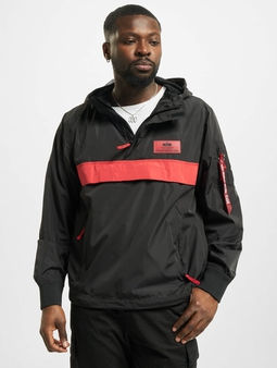 Alpha Industries Defense Anorak Zip Hoody Black