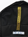 Off White Backpack Black Whit image number 8