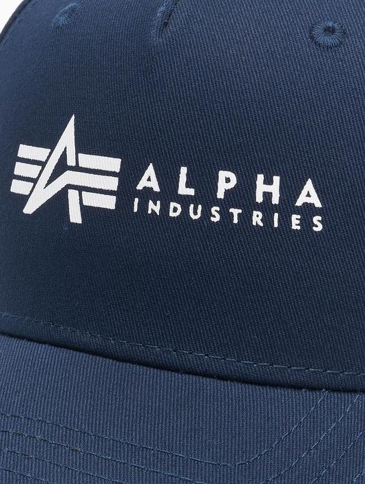 Alpha Industries Alpha Snapback Cap Rep Blue image number 4