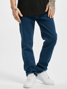 Urban Classics Relaxed Fit Jeans Mid Indigo