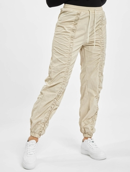 Missguided Nylon Ruched Front Oversized Sweat Pants