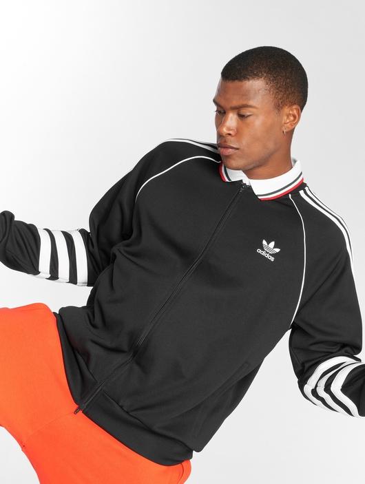 Adidas Originals Auth Tt Transition Jacket Black image number 0