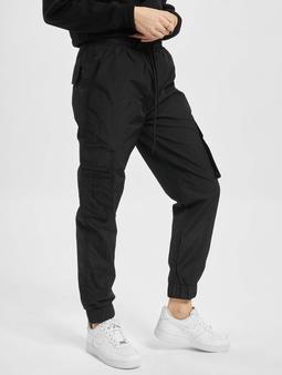 DEF Track Chino bukser svart