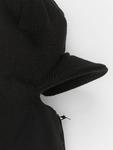 Urban Classics Zipped Visor Beanie Black image number 2