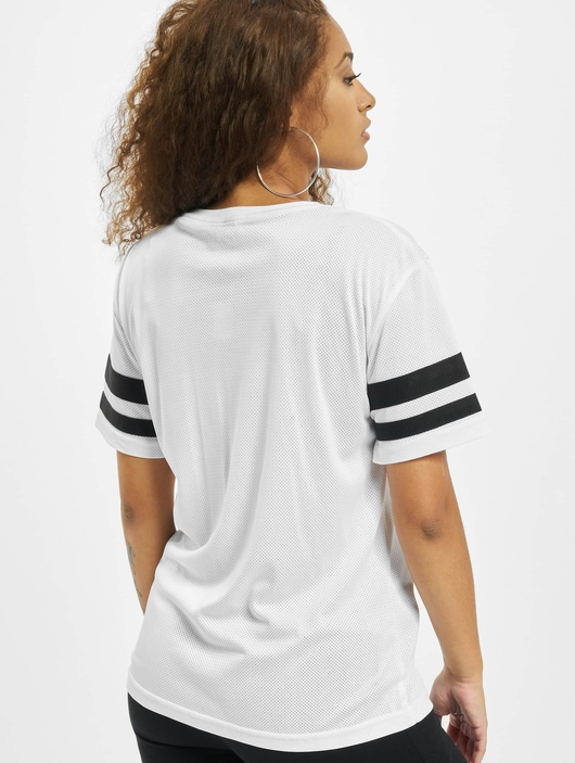 Mister Tee 2Pac Stripes T-Shirt White image number 1