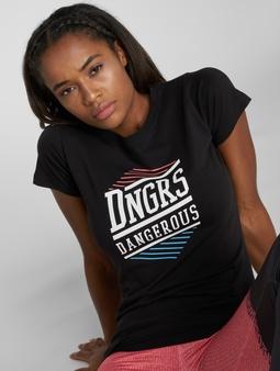 Dangerous DNGRS Tackle T-skjorter svart